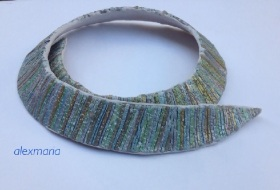 My new necklace and bracelet!